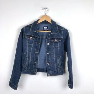 Levi's Jean Jacket Dark Denim Size 12 (L)